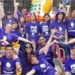 Volunteers at Princess Margaret Hospital