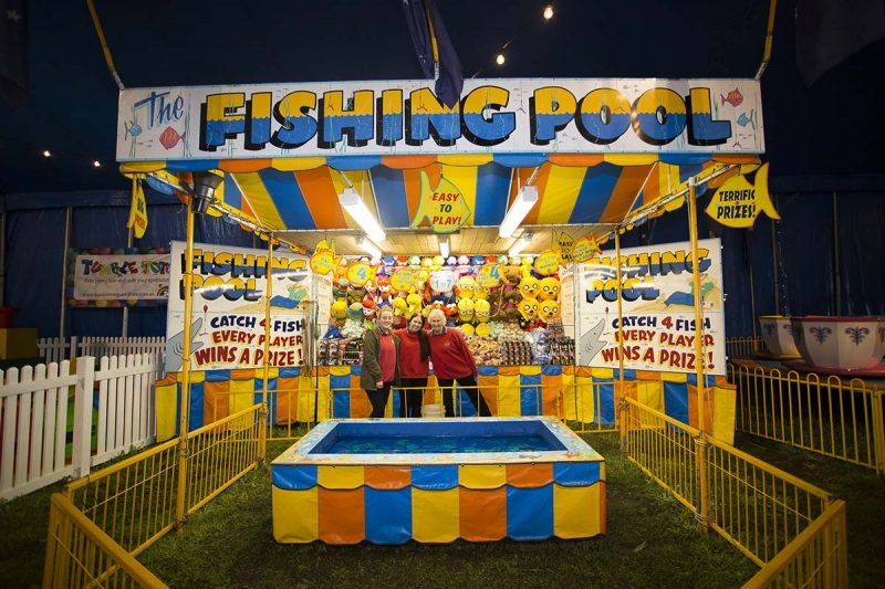 FIshing Pool with staff