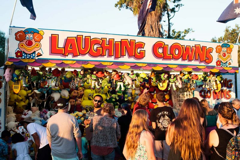 Laughing Clowns game