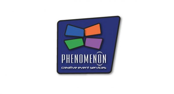 Phenomenon creative event services logo