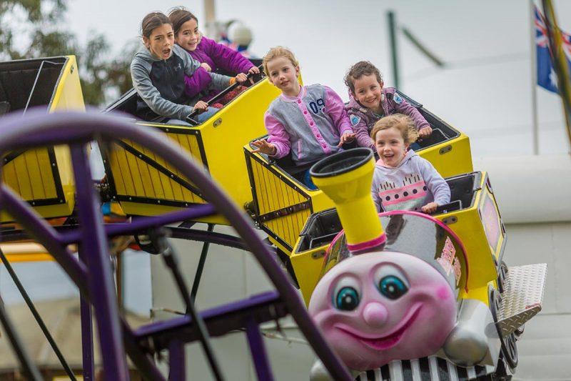 Having fun on the rollercoaster