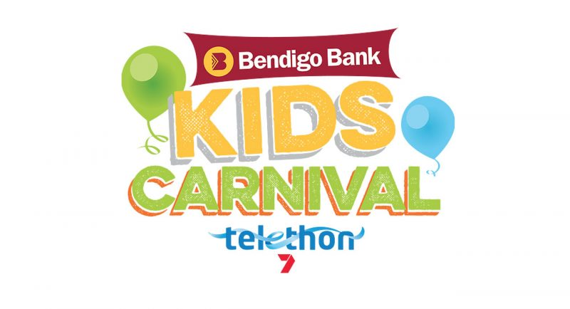 Kids Carnival Logo for Telethon