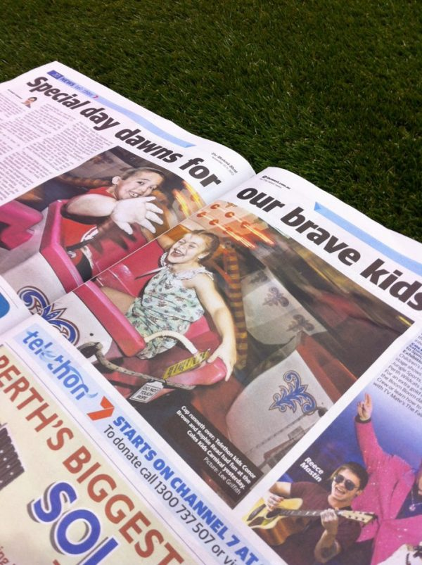 Cup & Saucer in the paper