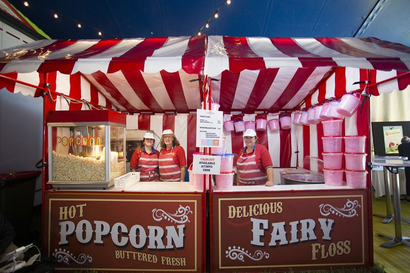 Popcorn and Floss stall at Kids Wonderland