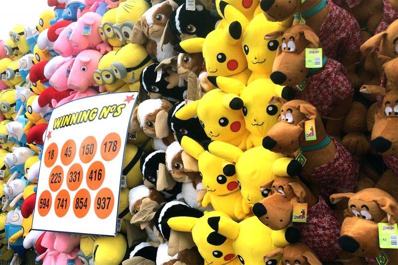 Pikachu & Scooby Prizes