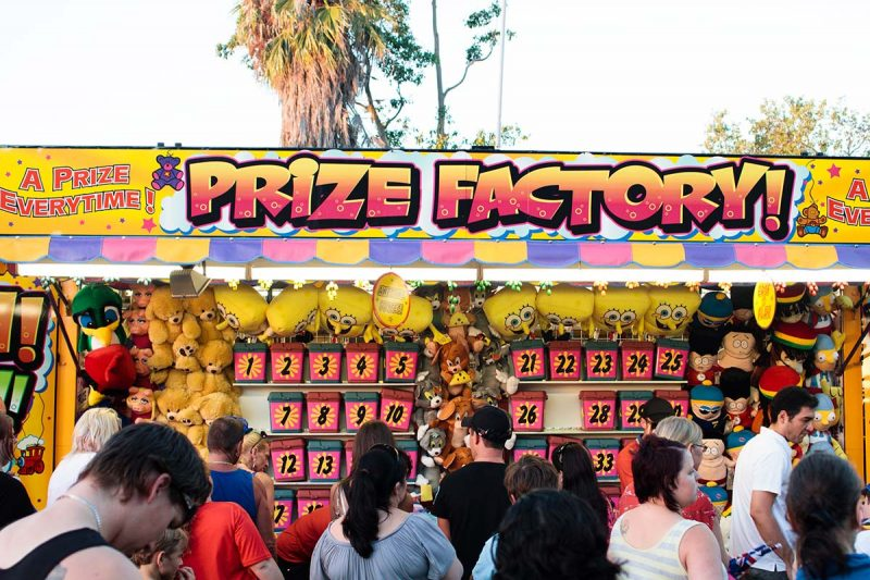Prize Factory signage